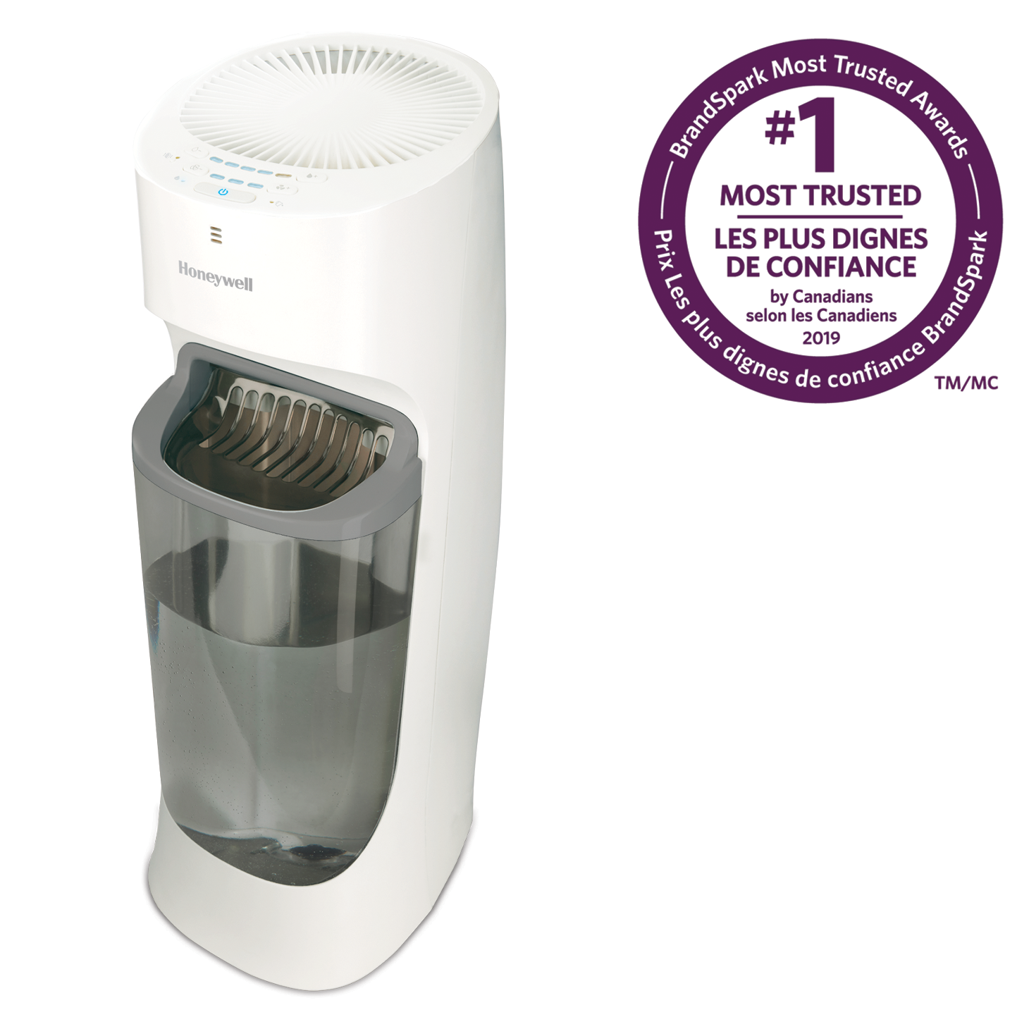 Honeywell HEV615WC Top Fill Tower Cool Mist Humidifier