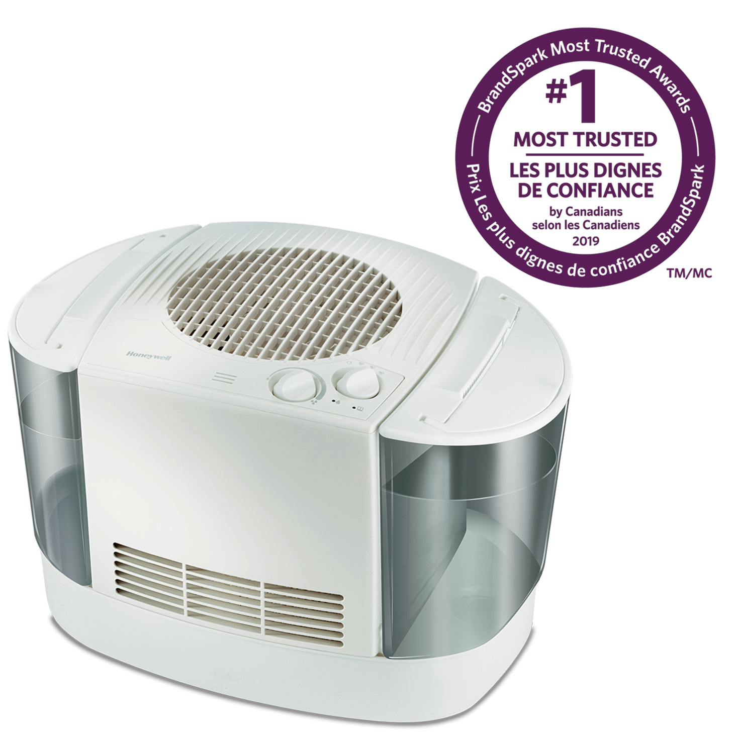 Honeywell HEV685WC Top Fill Console Humidifier