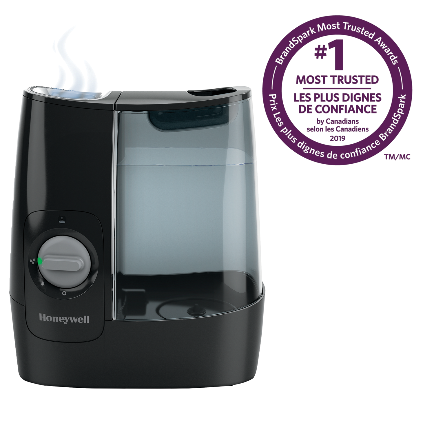 Honeywell HWM845BC Soothing Comfort Warm Mist Humidifier
