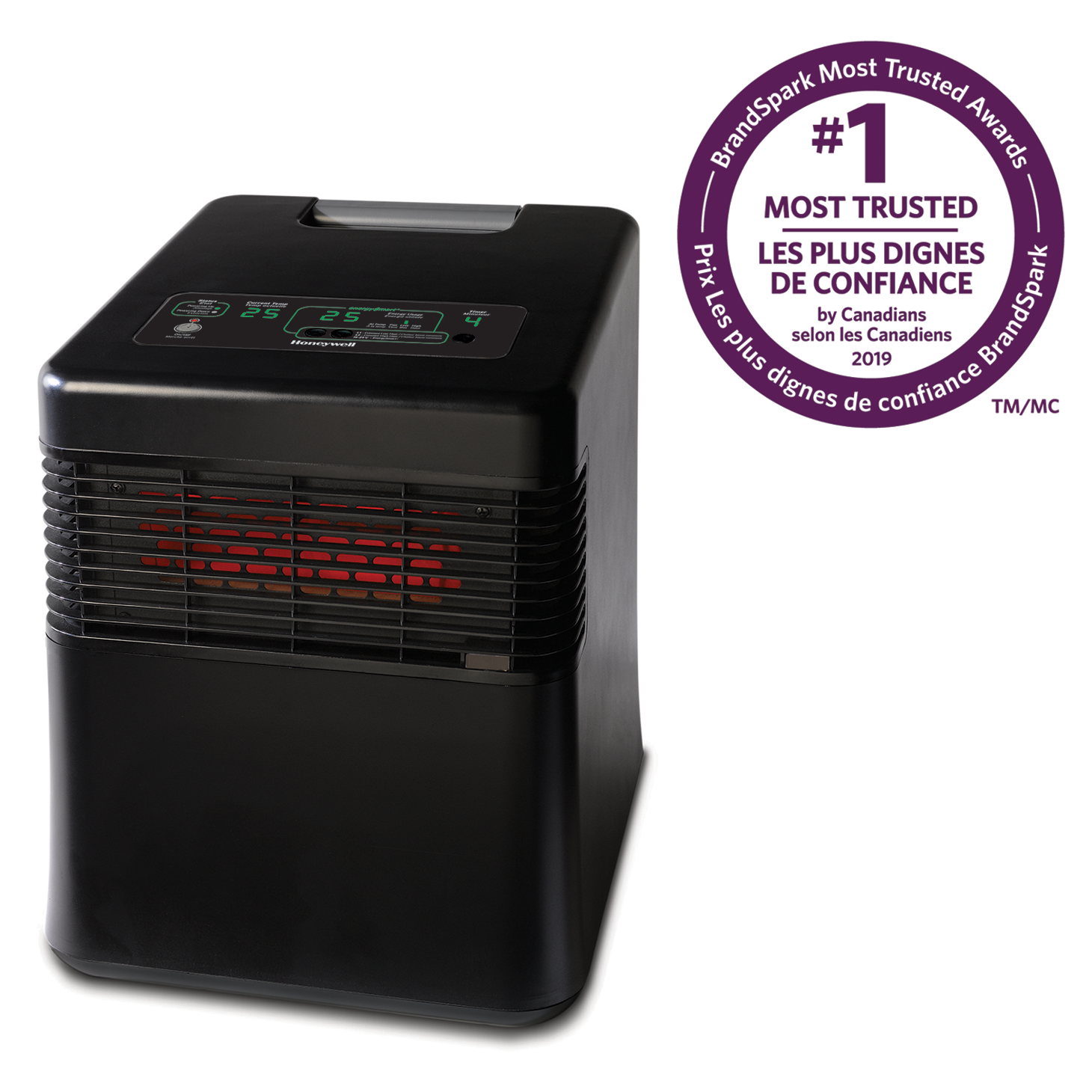 Honeywell HZ-970C EnergySmart® Infrared Whole Room Heater